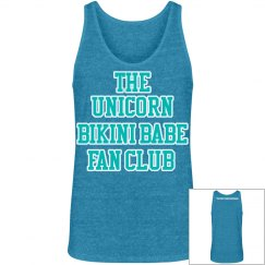 UNICORN FAN CLUB MEN'S TANK - BLUE/WHITE