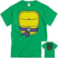 Purple Turtle Halloween Shirt