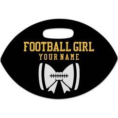 Football Girl Tag