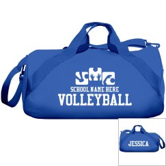 High School Volleyball Team Bags With Custom Name