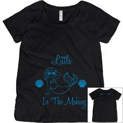 Maternity white/blue
