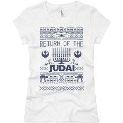 Jedi Hanukkah Juniors Tee