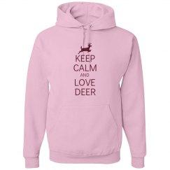 Keep calm love deer