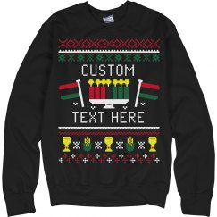 Custom Kwanzaa Ugly Sweater