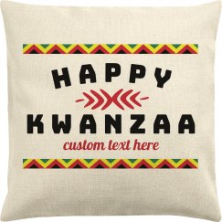 Happy Kwanzaa Custom Pillowcase