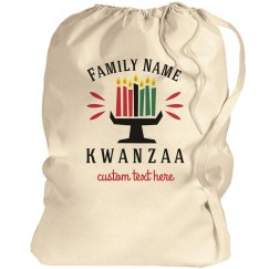 Family Name Kwanzaa Gift Bag
