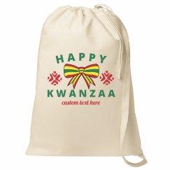 Happy Kwanzaa Holiday Bow Bag