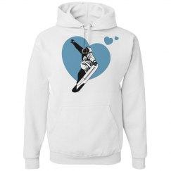USA Snowboard Hearts