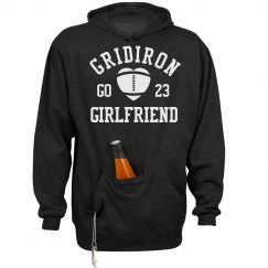 This Football Girlfriend Loves Tailgating Hoodie