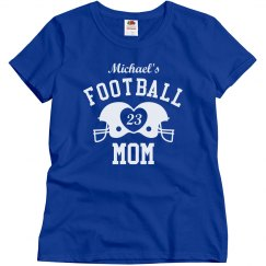 Football Family Football Mom Custom Shirts