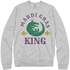 The Mardi Gras Gator King