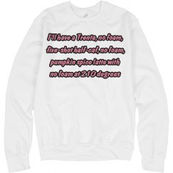 Scream Queens PSL Sweater
