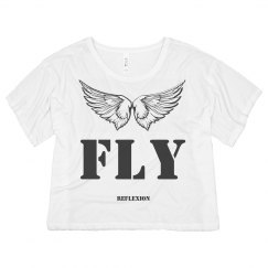 FLY CROPPED BOXY TEE