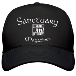 sanctuary Magazine straight outta the grave hat