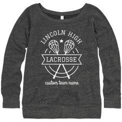 Custom School & Team Lacrosse