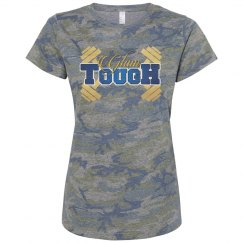 GlamTough Camo T-shirt