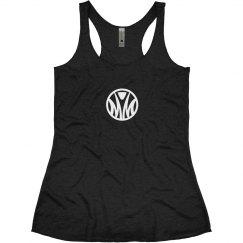 Girls Design 3: Misfit logo girl racerback tank