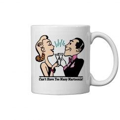 Martini - 11oz Ceramic Mug