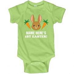Custom Cute Bunny 1st Easter