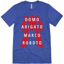 Domo Arigato Marco Roboto Tee