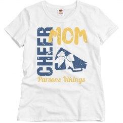 Vikings Cheer Mom Relax Fit