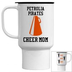 Cheer Mom Mug- 3 kids, peewee