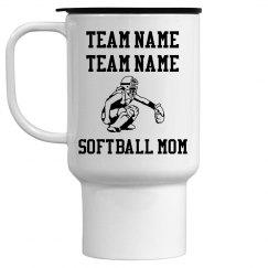 Softball Mom Mug (Catcher)