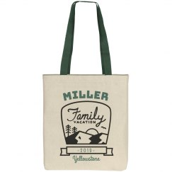 Custom Family Camping & Hiking Vacation Tote