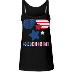 American Flag Sunglasses & Stars