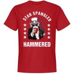 Star Spangled Hammered Uncle Sam