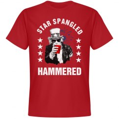 Star Spangled Hammered Uncle Sam