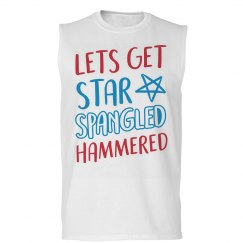 Star Spangled Hammered Muscles