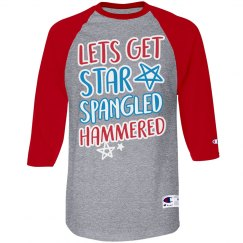 Star Spangled Hammered & Patriotic