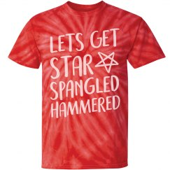 Star Spangled Hammered Tie-Dye