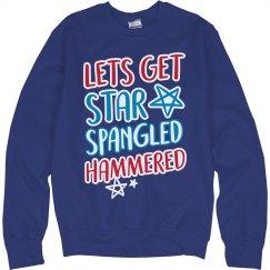 Star Spangled Hammered Bonfire