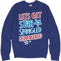 Star Spangled Hammered Bonfire