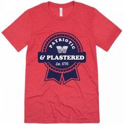 Patriotic & Plastered July 4th