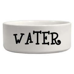 Pet Style: Water Bowl