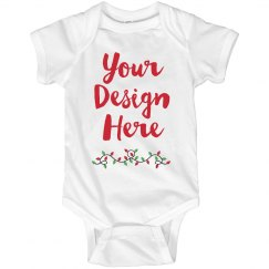 Your Design Here Christmas Onesie