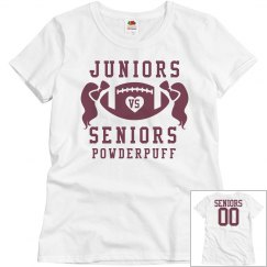 Budget Price Powderpuff Football Shirts Seniors