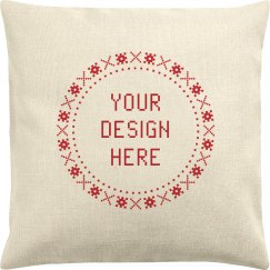 Design a Custom Christmas Pillowcase