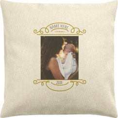 Custom Baby Photo Pillow