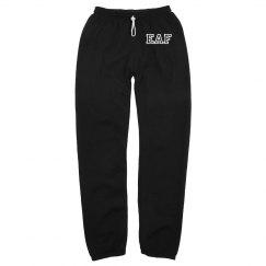 EAF Varsity Slouchy Sweatpants