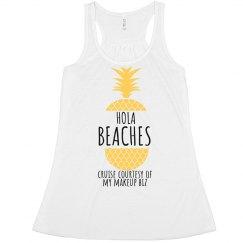 Hola Beaches-Flowy Yellow