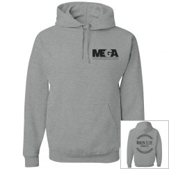 Unisex Hoodie- Back and Front