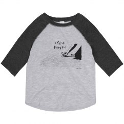 I Support Pulling Out - Toddler - 3/4 Raglan Tee
