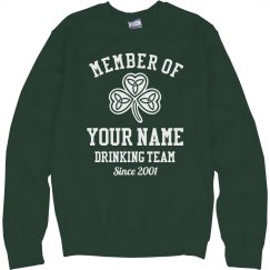 Cozy St Patricks Drinking Team