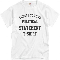 Create Your Own Political TShirt