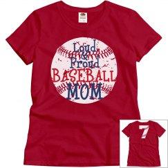 Loud & Proud Baseball Mom