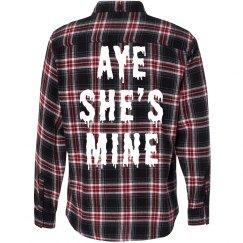 Aye She's Mine Flannel